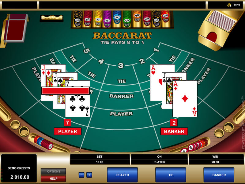 Baccarat Online – das fesselnde Game